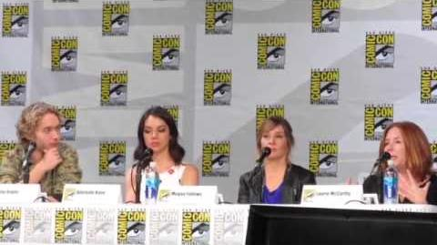 Reign Panel Part 3 (Upclose) Comic Con 2014