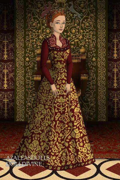 Queen Catheirne Tudors Scene Maker Dolldivine Jpg