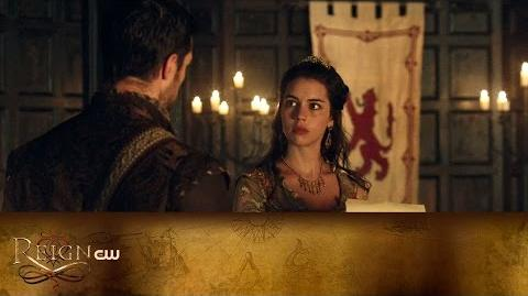 Reign Love & Death Scene The CW