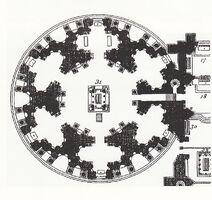 Plan de la Rotonde des Valois