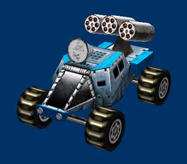 Militia Ratfink Rocket Buggy