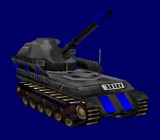 German Panther Artillery