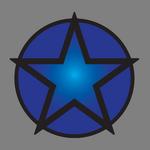Militia Star Blue