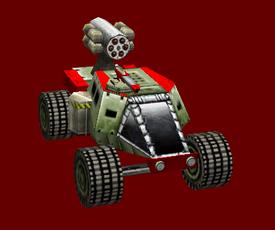 China Ratfink Rocket Buggy