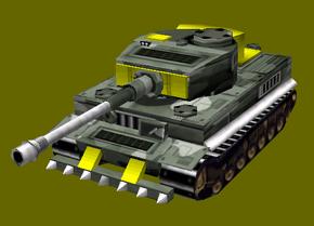African Tiger Tank