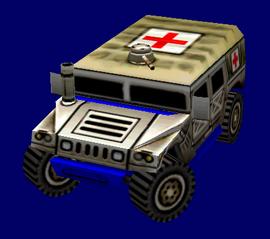 USA Hummer H1 Ambulance