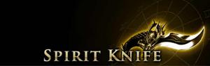 Spirit Knife Page Banner