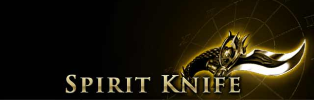 Spirit Knife Page Banner