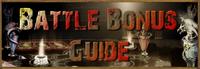 Battle Bonus Guide