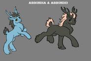 Abbondia and Abbondio