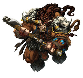 Warcraft tauren art by mikebowden-d5h9mdl
