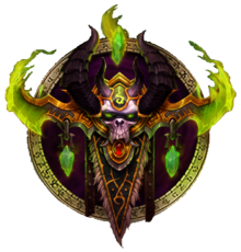 Emblema Cazador de demonios