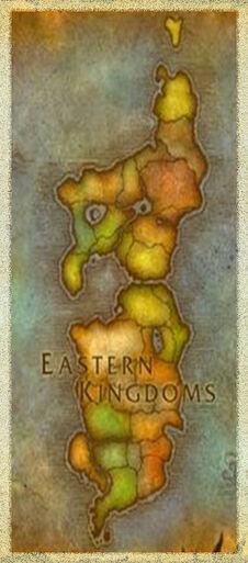 Mapa reinos este halloween alianza