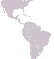 250px-Crocodylus rhombifer Distribution