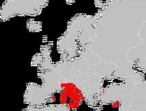 250px-Mapa Podarcis siculus