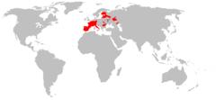 240px-Eliomys quercinus range map