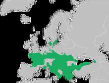 250px-Mapa Rana dalmatina