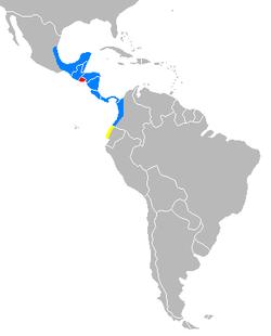 250px-Distribution map Tapirus bairdii
