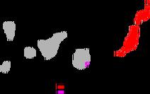 250px-Gallotia atlantica range Map