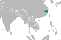 240px-Alligator sinensis Distribution