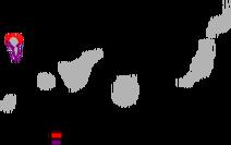 Gallotia auaritae range Map