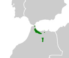 220px-Alytes maurus range Map