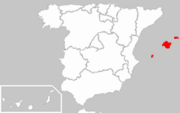 Locator map of Balearic