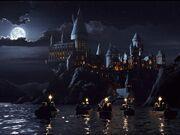 Hogwarts a noite