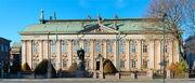 Palácio Riddarhuset de solaria