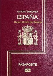 Pasaporte Español 2009