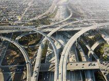 Auto estrada Highway de reggio emilia