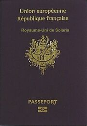 416px-French passport front cover