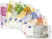 220px-Euro banknotes