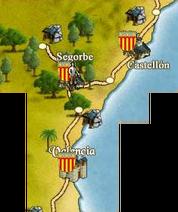 Segorbe map