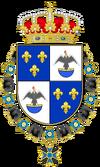 Escudo Casa de Borbón-Ecuador