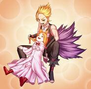 Garfiel and Mimi
