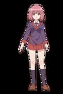 Momo Minamoto Student Winter Uniform