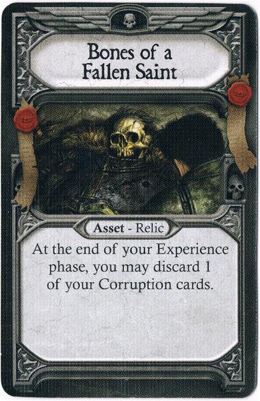 Bones of a Fallen Saint