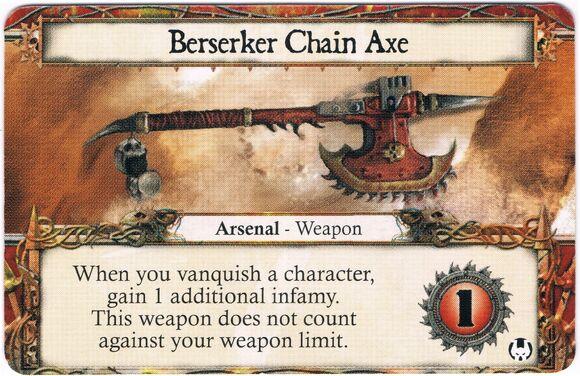 Berserker Chain Axe