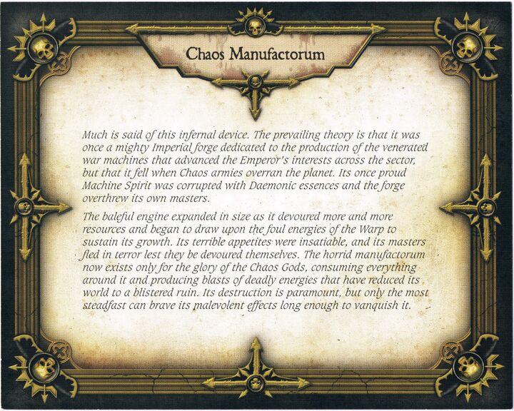 Chaos Manufactorum (Back)