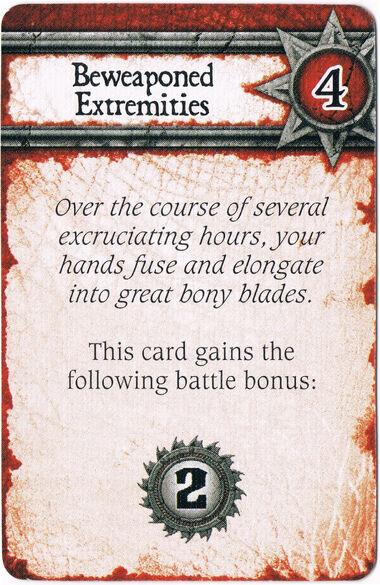 Beweaponed Extremities