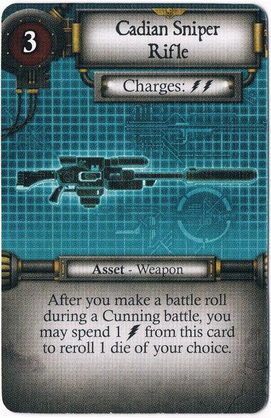 Cadian Sniper Rifle