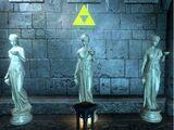 Golden Goddess Statues