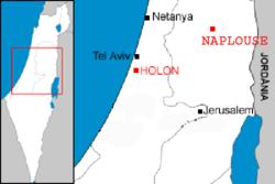 Samaritan communities map