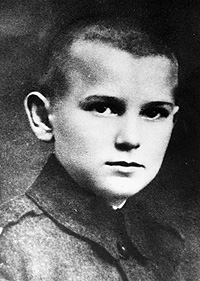 Karol Wojtyla at 12