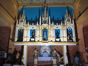Altarpiece of the Immaculate Conception Church in Jasaan, Misamis Oriental