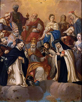 THE HOLY FAMILY of SAINTS