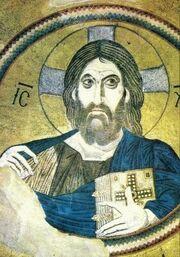 Christ pantocrator daphne1090-1100