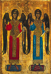 Erzengel Michael und Gabriel