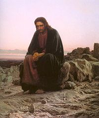 Ivan Kramskoy's 1872 - Christ in the Wilderness